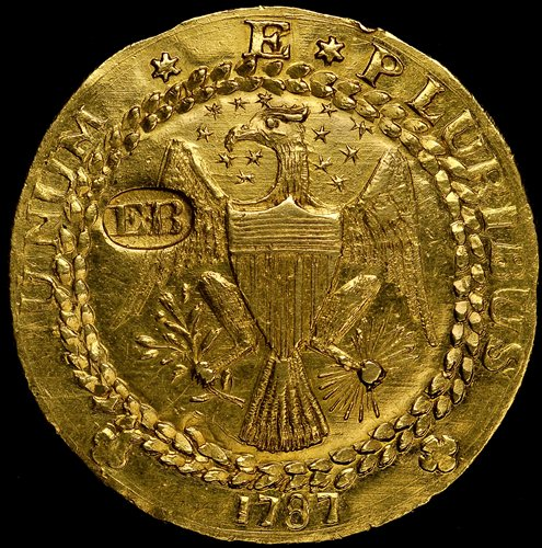 1787 Brasher Doubloon On Display At Ana Money Museum