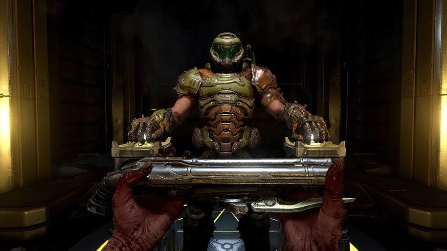 Doomguy, DOOM Eternal, 4K, #7.871