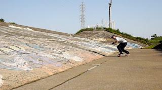 湘南サーファーの聖地 大庭バンクでサーフスケート&フリーライド