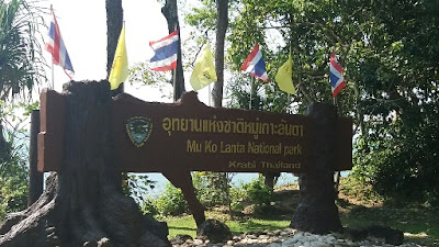 Photo of Mu Ko Lanta National Park Entrance Sign