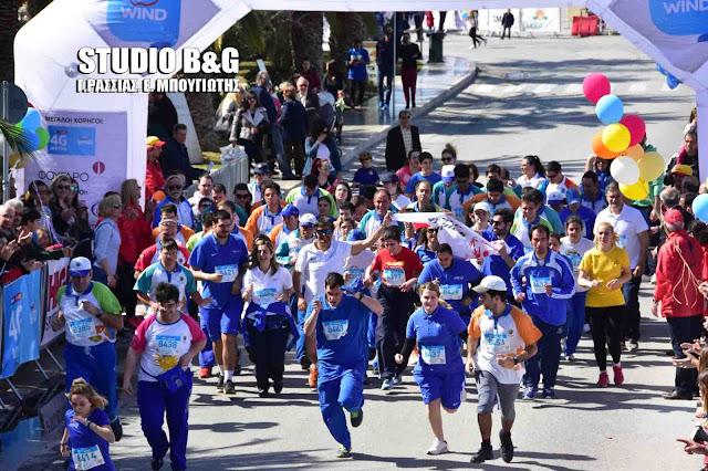 Τα Special Olympics Ελλάς συμμετέχουν στον 4ο Μαραθώνιο Ναυπλίου
