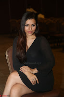 Kyra Dutta in black At Rogue Movie Audio Launch ~  037.JPG