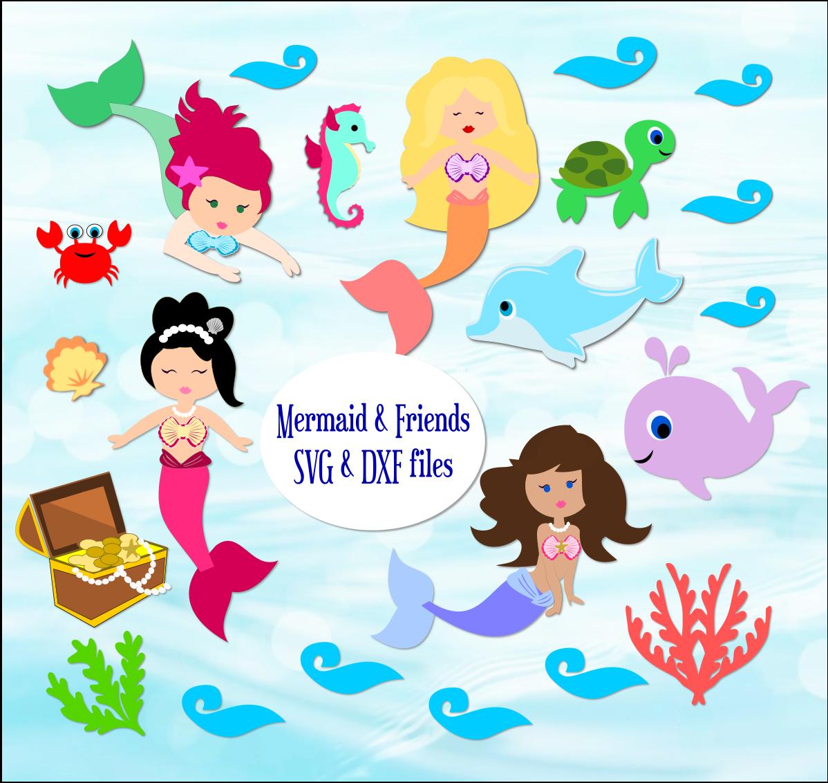 Download Freebie Friday- Little Mermaid SVG Cut Files - Abbi ...