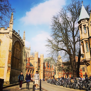 Cambridge in the sunshine