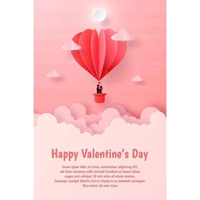 cool valentines day ideas Valentines day flyer vector