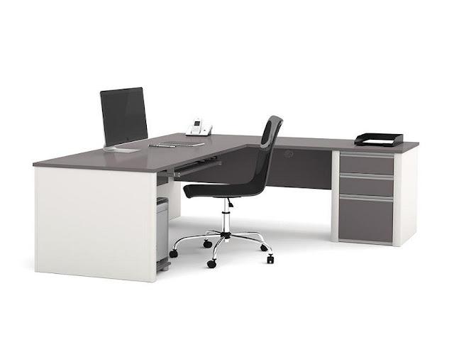 best buy modern l shaped office desk furniture Ireland for sale online