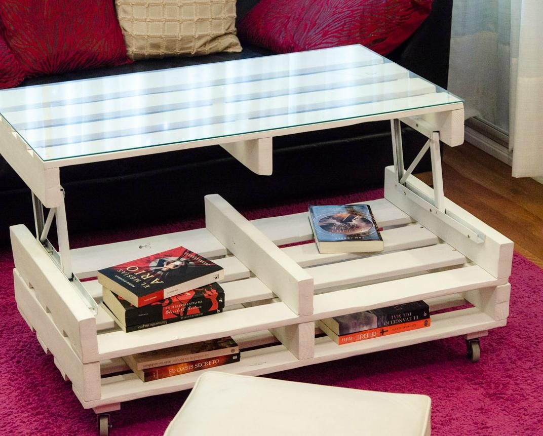 Surprising Build A Practical Lift Table With Pallets Ideas Wood Customarchery Wood Chair Design Ideas Customarcherynet