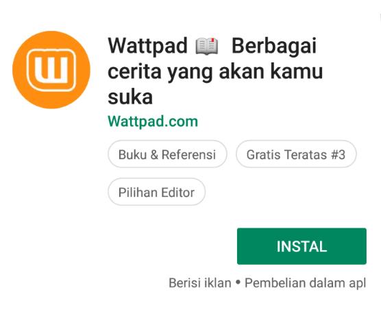 Wattpad Android