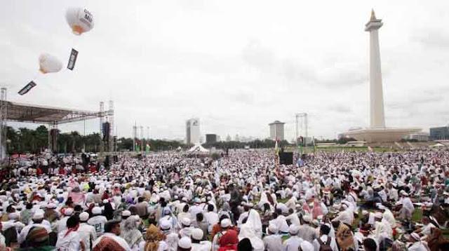 Reuni Akbar 212 di Monas Akan Dihadiri Umat Islam Asia, Eropa dan Amerika