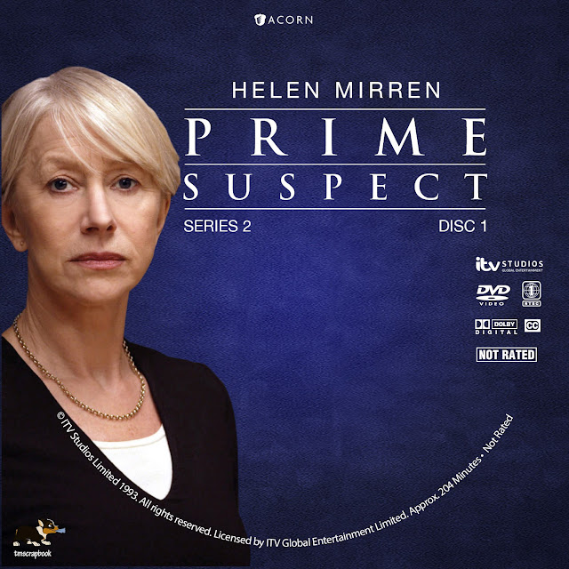 Prime Suspect Season 2 Disc 1 DVD Label