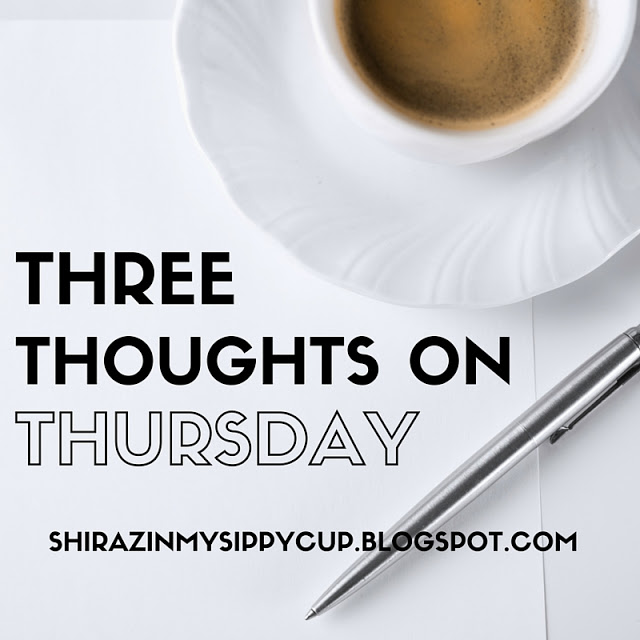 Three Thoughts on Thursday. #parenting #workingmoms