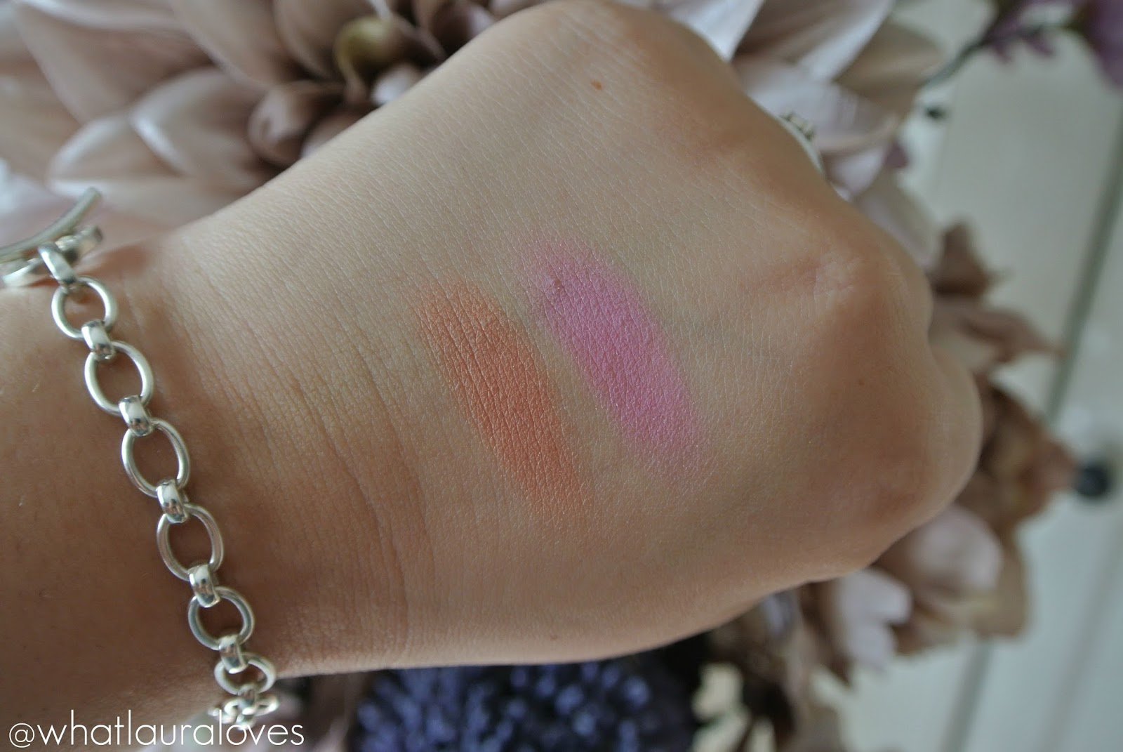 Too Faced Love Flush Blush Review and Swatches I Will Always Love You Justify My Love