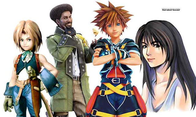 Kingdom hearts 3: Final fantasy characters