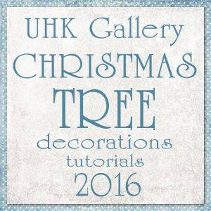 Christmas tree decorations - TUTORIALE