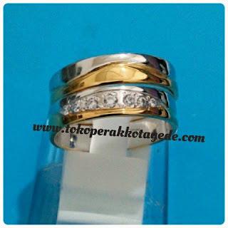 cincin kawin pasangan couple perak