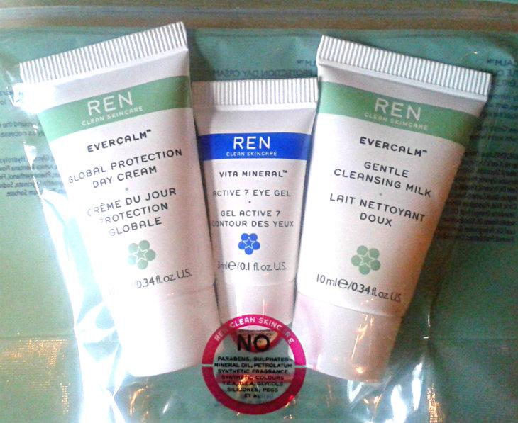 REN Skincare Samples