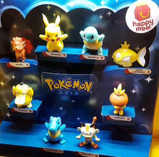 Pokemon Ties Up With McDonald's For Their Custom Toys