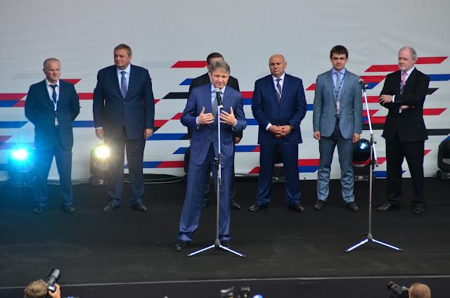 Открытие Сочи Автодрома, Ткачев, Воробьев, Хатуов,