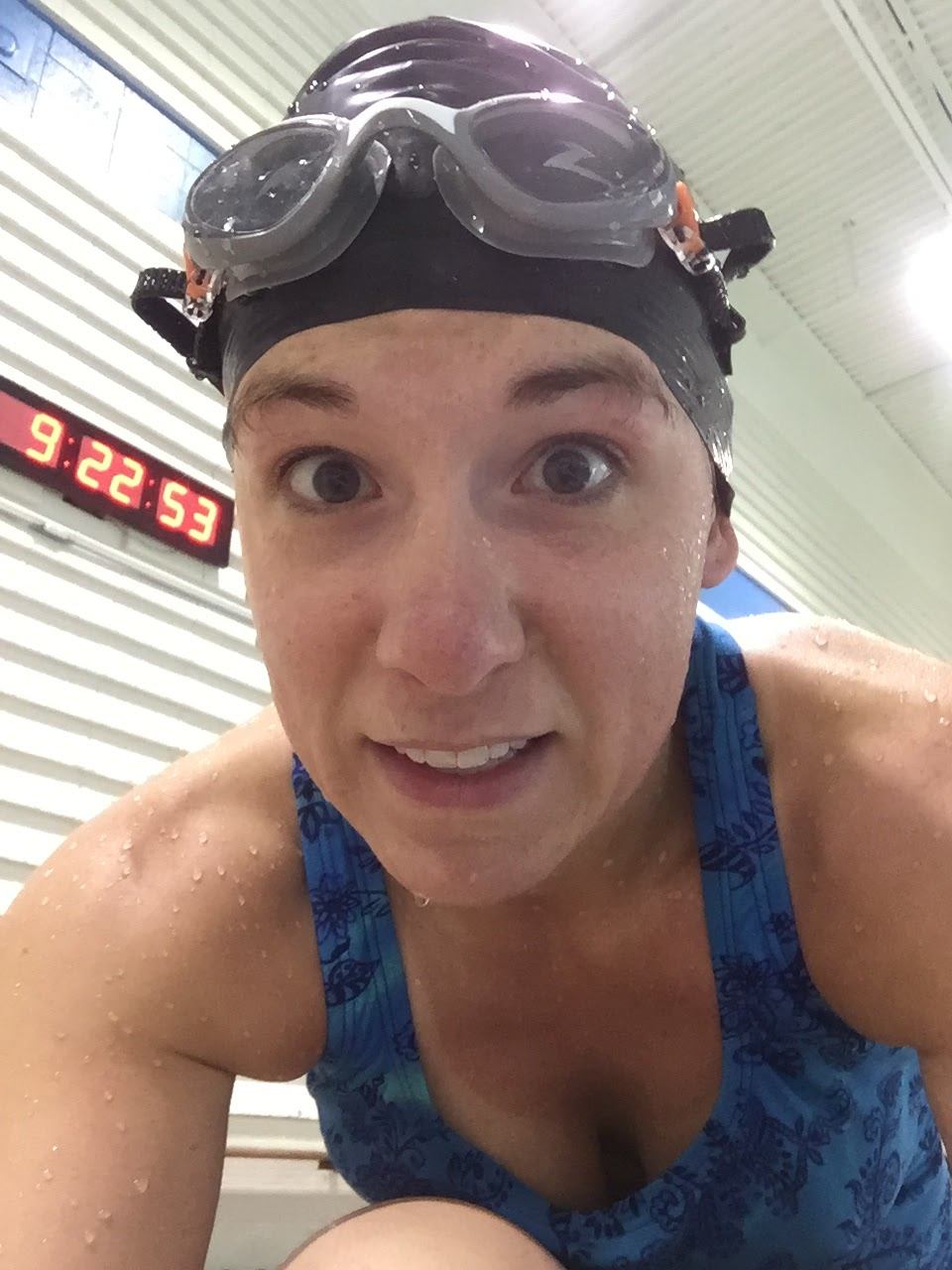 swimming laps in the pool when you cant run dopey challenge training