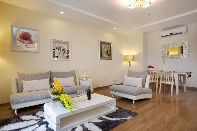Thiết kế nội thất căn hộchung cư cao cấp Hải Đăng HD Mon City