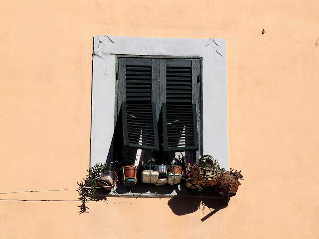 Window shutters, Livorno