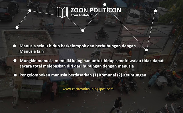 Pengertian Zoon Politicon (Aristoteles)