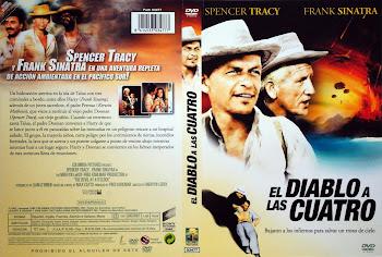Carátula dvd: El diablo a las cuatro (1961) (The Devil at 4 O'Clock)