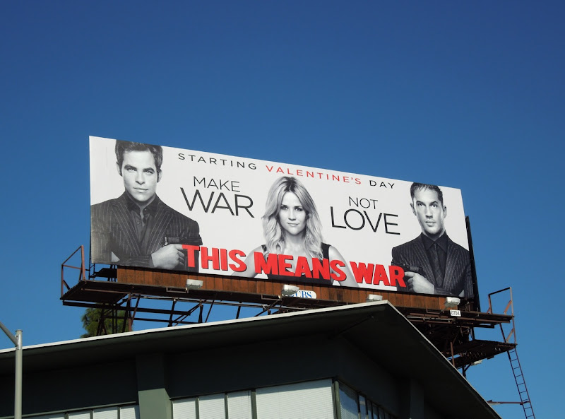 Make War Not Love billboard