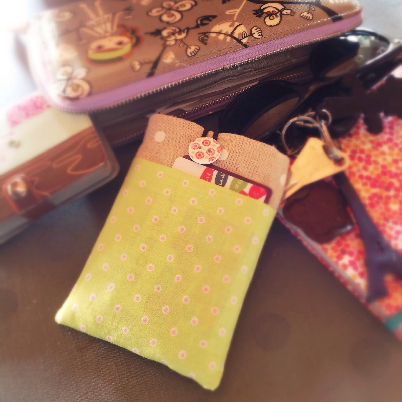 Tuto couture pochette housse t l phone for Housse telephone