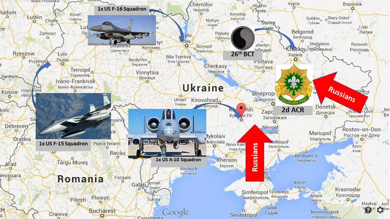materials on the 2018 zapad exercise haven t emerged yet but details on last year s russian exercise are here placing units in ukraine before a russian