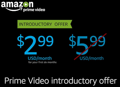 Amazon Prime Video Malaysia 7-day Free Trial RM13/Month for