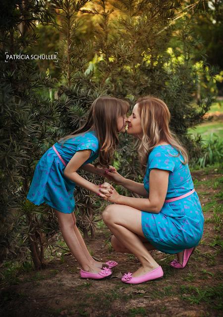 Sessão mãe e filha Angelita e Kimberly - Patrícia Schüller Fotografias Rio do Sul
