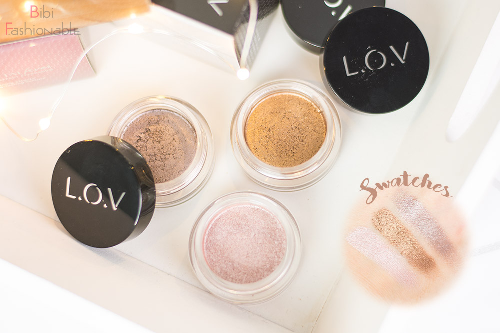 LOV Cosmetics Winter Collection Metalfever Foil Effect Eyeshadow inkl Swatches