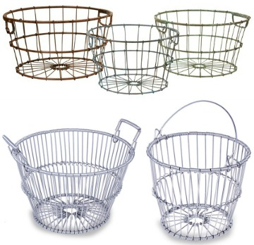 Claming Wire Baskets for Decor