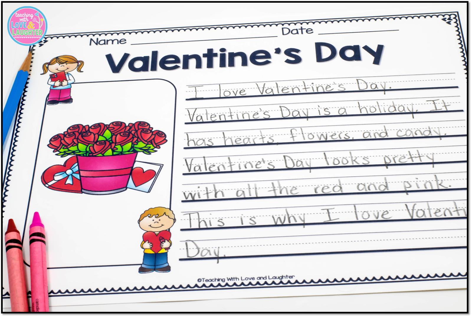 Teaching With Love And Laughter Sweet Valentine S Day Activities
