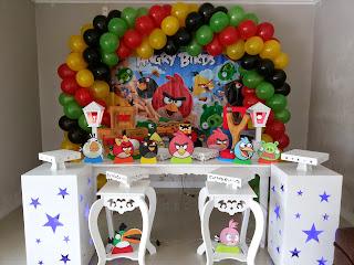Cenário Angry Birds