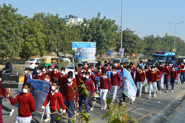 Paras Hospitals Fights Against Pollution: Children March Towards a Greener Future
