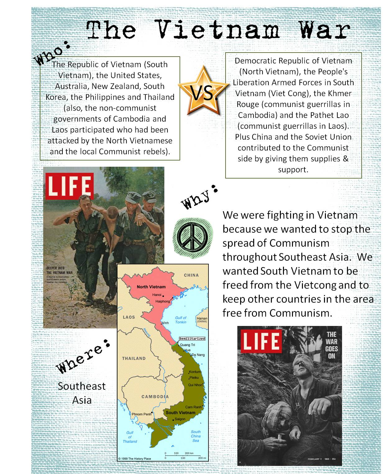 Strong Armor Vietnam War Project