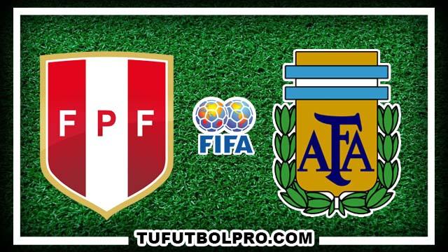 Ver Perú vs Argentina EN VIVO Gratis Por Internet Hoy 6 de Octubre 2016