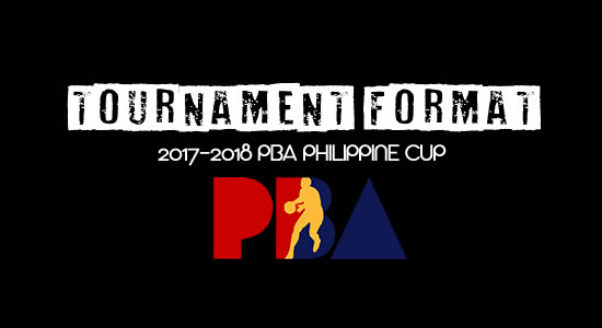List of Tournament format 2017-2018 PBA Philippine Cup
