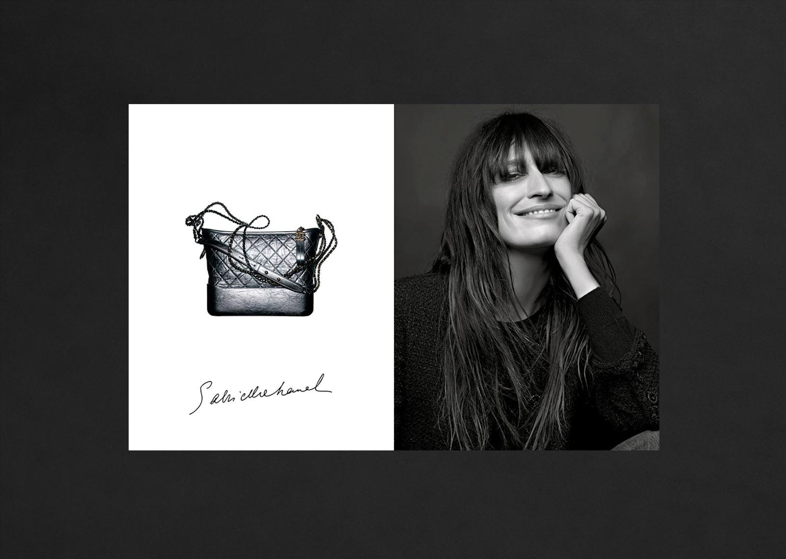 BTS Video: Caroline de Maigret's Chanel Gabrielle Bag Campaign