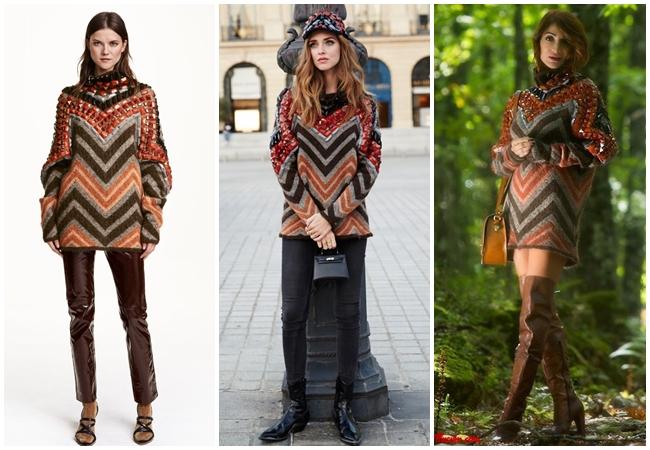Same or Not 宣娜:名模穿搭、時尚街拍、針織洋裝