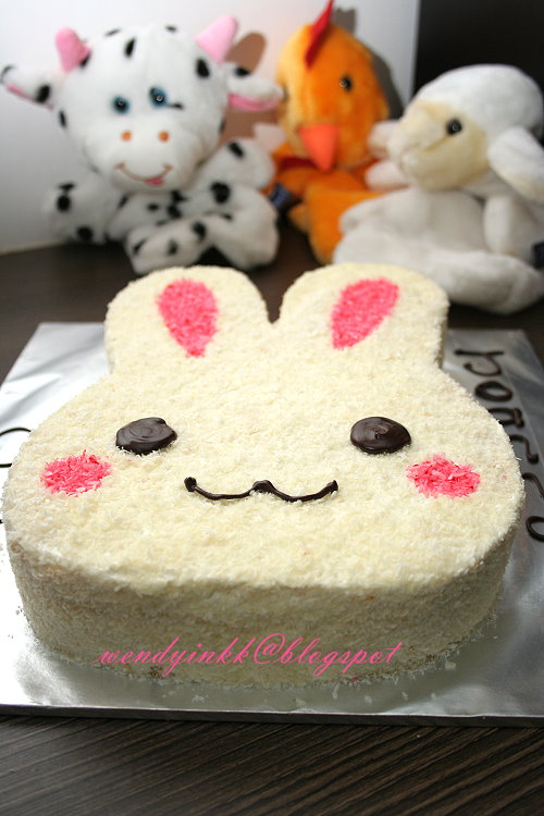 Rabbit Cake Birthday Jelly Cake Eloise