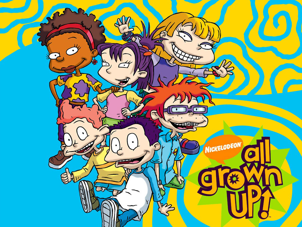All Grown Up Nickelodeon Cartoon