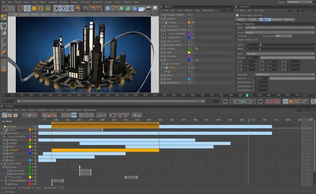 تحميل سينما فور دي 2018 للكمبيوتر - CINEMA 4D Studio مجانا