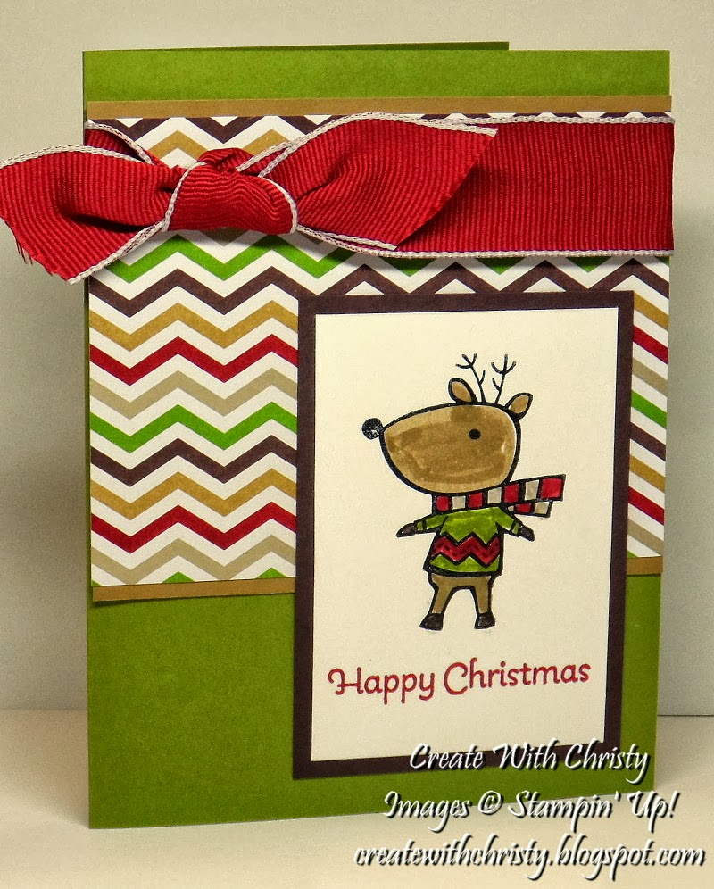 Create With Christy: Two Cute Christmas Cards!