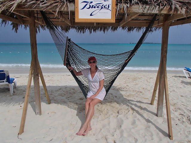 Susan on hammock
