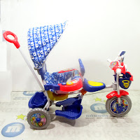 royal ry5098cj disco patrol 2-seater tricycle