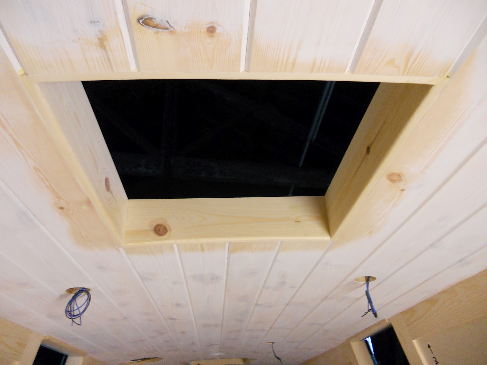 Harris Amp Watson Narrowboat Build Roof Hatch And Prism Trim