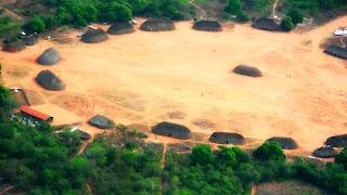 O Parque Indígena do Xingu, no Mato Grosso